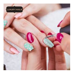 LUXURY NAILS WAX COLOR...